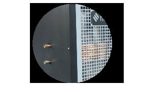 Olejowe nagrzewnice powietrza z funkcją CO i CW